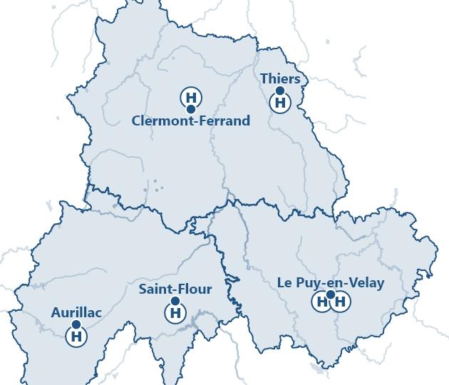 Puy-de-Dôme - Cantal - Haute-Loire -- 3C CHU 63 Cantal-Hte Loire