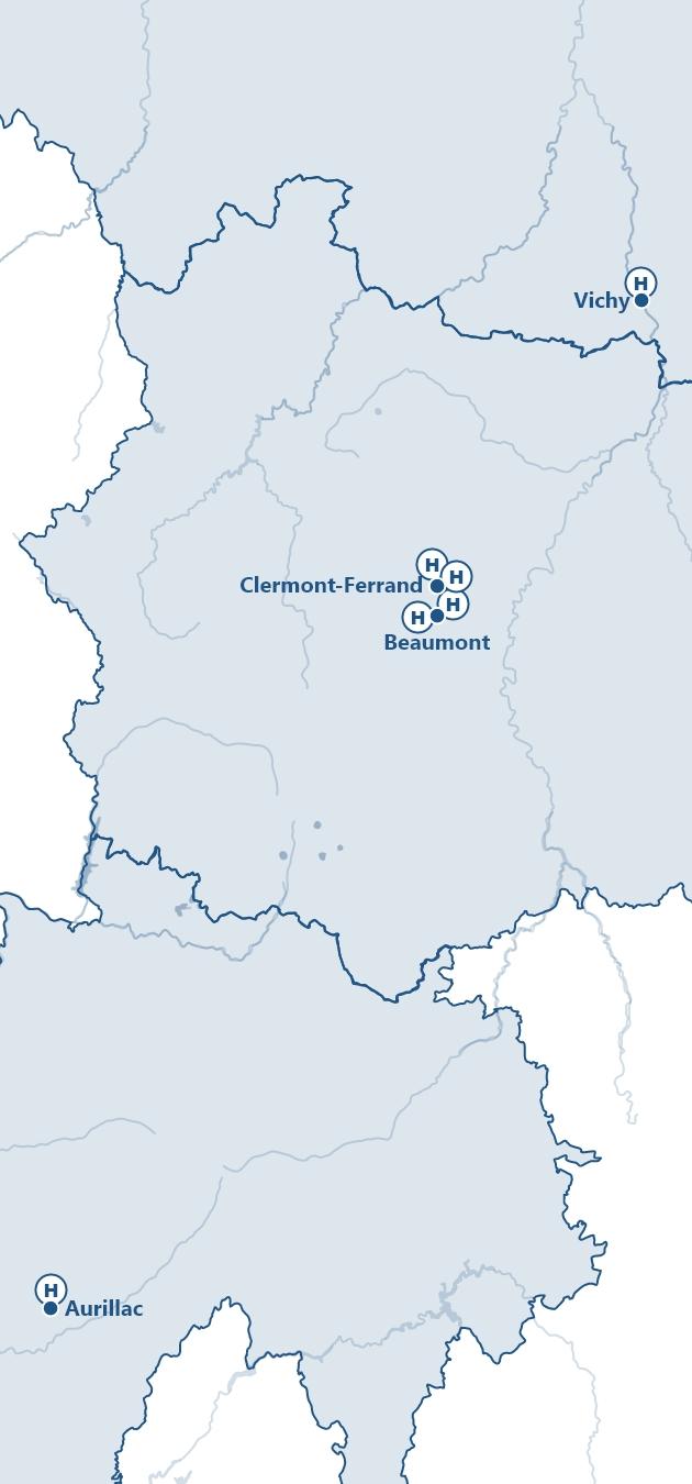 Allier - Cantal - Puy-de-Dôme -- 3C République